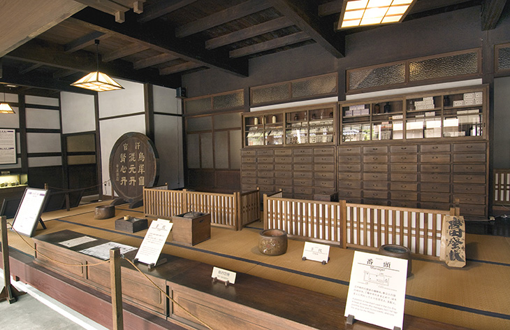 A Japansese pharmacy in Edo period