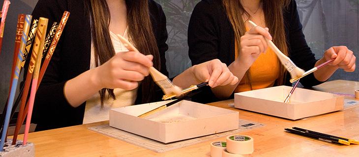 Making chopsticks