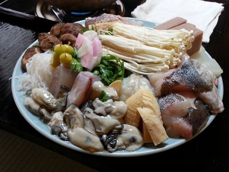 Nabe Taro's ingredients
